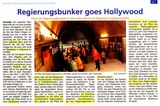 Regierungsbunker  goes Hollywood